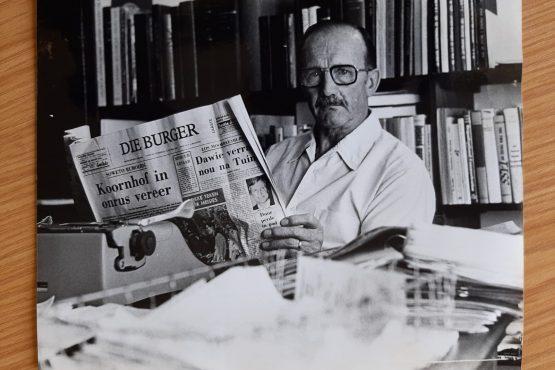 Prof. Gert Pienaar – baanbreker