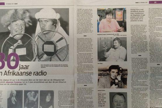 Tagtig jaar van Afrikaanse radio
