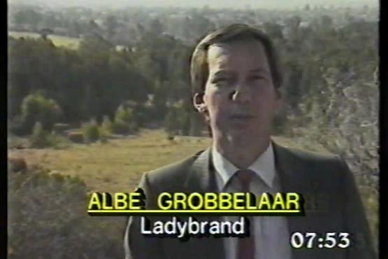 Albé Grobbelaar vertel